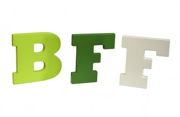 Letras BFF (Best Friend Forever)